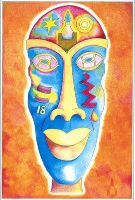 Soul Mask Orange 2
