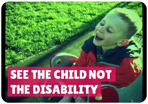 Seeing Child Not Disability >> Send A Postcard To The World An Innovative Online Disability