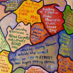London memory Map 1
