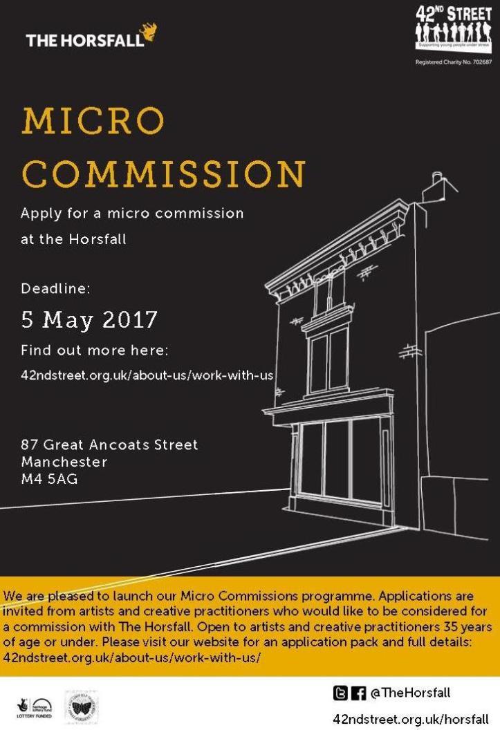 Commission Flyer